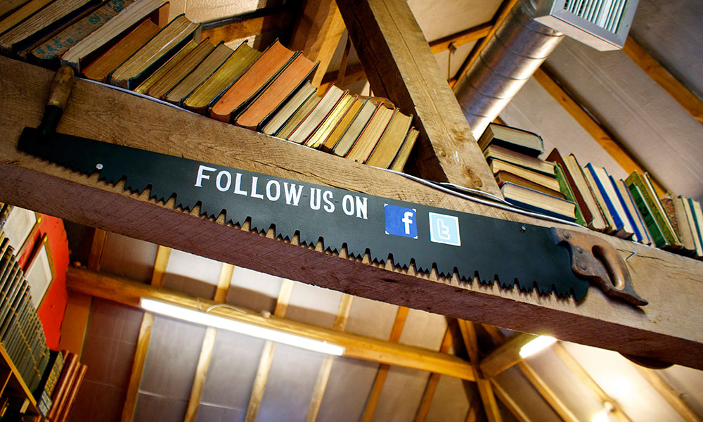 Astley Book Farm - follow us on Facebook and Twitter